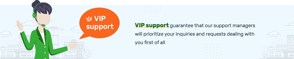 VIP Support desktop