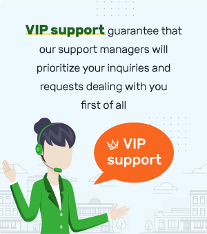 VIP Support mobile