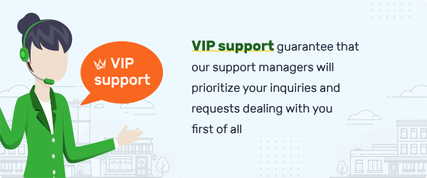 VIP Support tablet