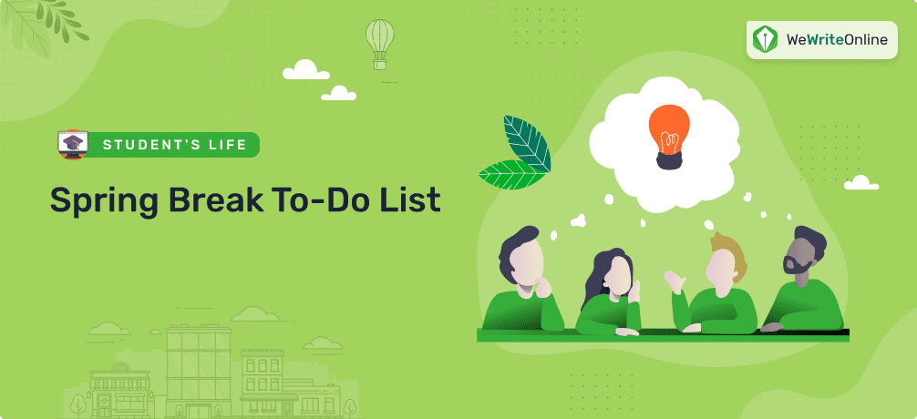 Spring To-Do List for Students