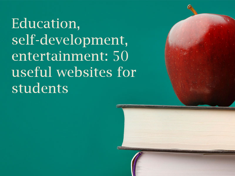 Education, self-development, entertainment1