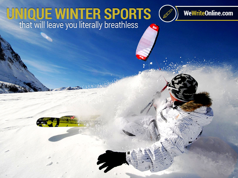 Crazy Winter Vacation Sports
