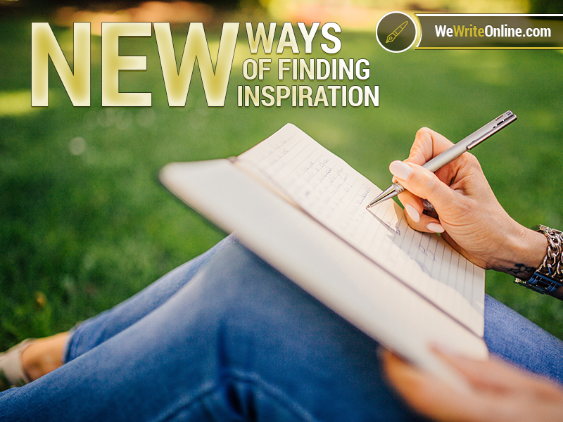 Where To FInd New Ideas and Inspiration