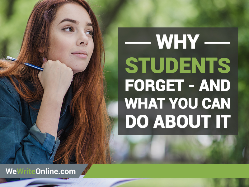 Why Students Forget
