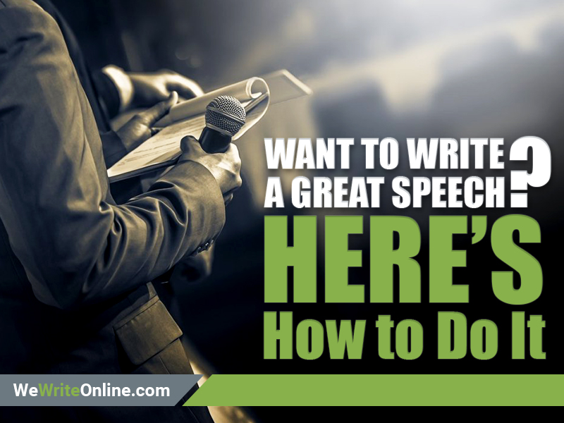 Write a Great Speech