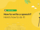 How to Write a Speech: Tips You Should Know