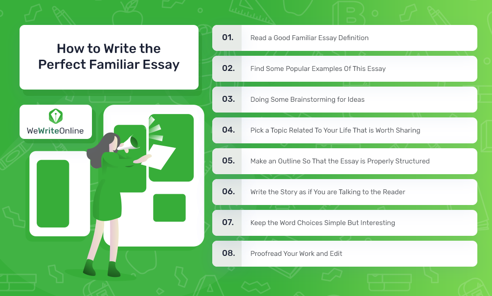 How to Write the Perfect Familiar Essay